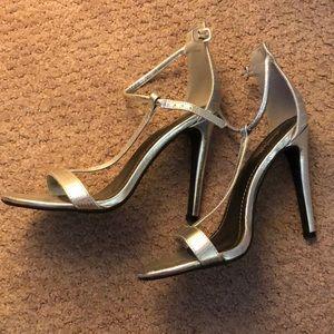 "4"" T Strap High Heels Charlotte Russe"